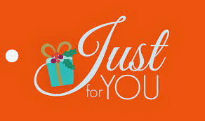 Just for you gift_orange