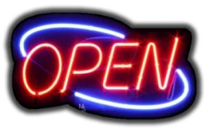 neon open
